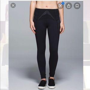 Lululemon exquisite pant black legging high waist